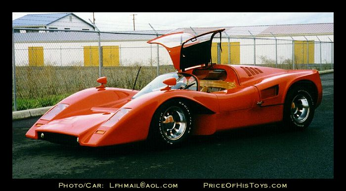 Insurance Cars For Sale Near Me: Red Manta Mirage Kit Car