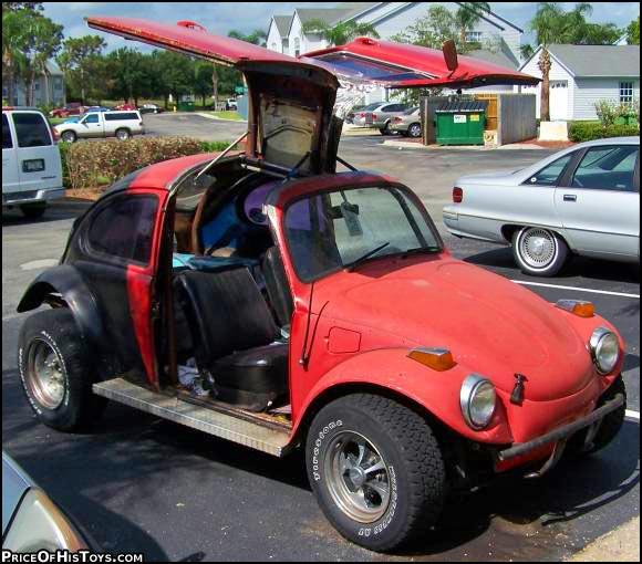 Black Bentayga Who Drives Cars Like This Meet Them At: Gull-wing Door Baja Bug Conversion