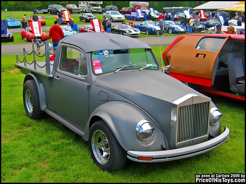 Rolls Royce Vw Bug >> Rolls-Royce/VW Truck Kit